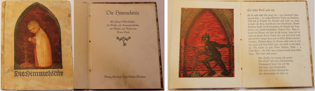 Buch Spötl Die Himmelstür Dreiteiler